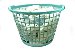 Free Laundry Basket Royalty Free Stock Images - 114739
