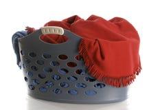 Laundry basket royalty free stock photos