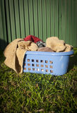 Laundry Basket Royalty Free Stock Photography