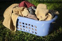 Free Laundry Basket Royalty Free Stock Image - 16555956