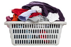 Laundry in a basket Royalty Free Stock Photography