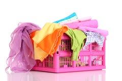 laundry basket Royalty Free Stock Image
