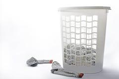 Laundry basket Stock Photos
