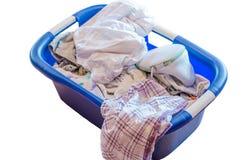 Laundry basket, Dirty Laundry Royalty Free Stock Photos