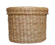 Laundry basket isolated Royalty Free Stock Photo