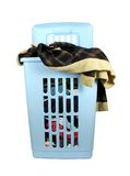 Laundry basket Stock Photo