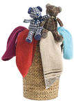 Laundry Basket and towels Royalty Free Stock Photography