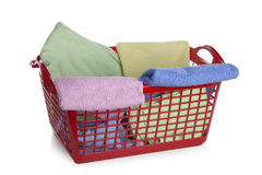 Laundry basket Stock Photos