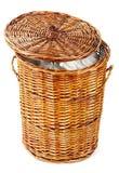 Laundry Basket Royalty Free Stock Images