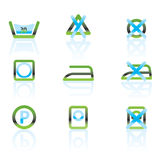 Laundry Care Symbols Stock Photos