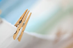 Laundry clip stock photography