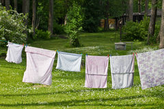 Laundry Day Stock Images