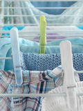 Laundry day Royalty Free Stock Photos