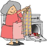 Laundry Day stock illustration