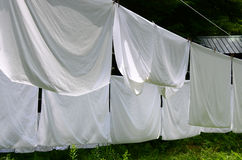 Hanging bed sheet images galleries with a bite - Wash white sheets keep fresh ...