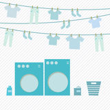 Laundry day Royalty Free Stock Photography