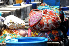 Laundry at Dhobi Ghat, Mumbai, India Royalty Free Stock Photography