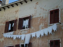 Laundry, Dubrovnik, Croatia Stock Photography