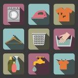 Laundry flat icon Royalty Free Stock Photos