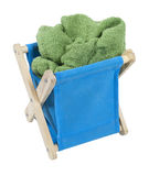 Laundry Hamper Royalty Free Stock Image
