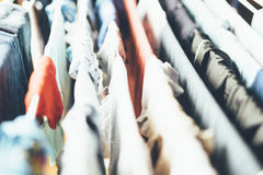 Laundry hanged to dry Royalty Free Stock Images