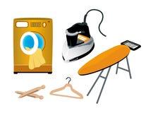 Laundry Icons Stock Image