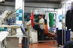 Laundry industry Royalty Free Stock Photography