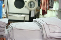 Laundry industry Stock Photography
