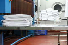 Laundry industy Stock Photo