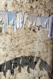 Laundry on the line Royalty Free Stock Images