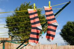 Laundry Line Stock Photos