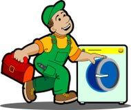 Laundry machine. Stock Photography