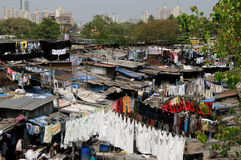 Laundry in Mumbai Royalty Free Stock Images