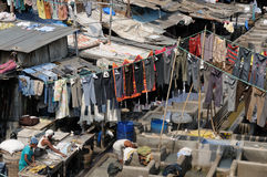 Laundry in Mumbai Royalty Free Stock Photo