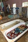 The laundry at Nekemte hospital Royalty Free Stock Image