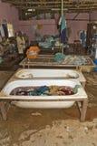 The laundry at Nekemte hospital Royalty Free Stock Photos