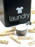 Laundry Powder Stock Photo
