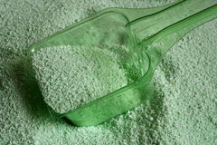 Laundry powder. Close-up of laundry powder Stock Photo