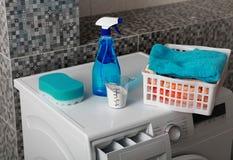 Laundry powder for washing Royalty Free Stock Photos