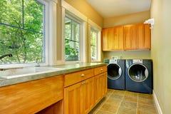 Laundry room interior Royalty Free Stock Image