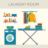 Laundry room Royalty Free Stock Images