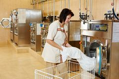 Laundry service Stock Photo