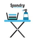 Laundry service Royalty Free Stock Photography