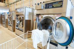 Laundry services Stock Photo