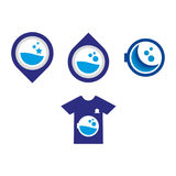 Laundry2. A set of laundry icons vector illustration