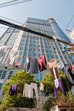 Laundry in Shanghai Stock Photography