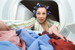 Laundry time Royalty Free Stock Photography