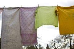 Laundry to dry Stock Photo