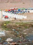 Laundry in Varanasi (Benares) Royalty Free Stock Image