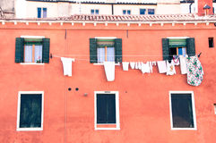 Laundry in Venice Royalty Free Stock Image